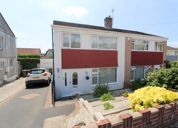 Thumbnail 4 bed semi-detached house for sale in Boringdon Close, Plympton, Plymouth