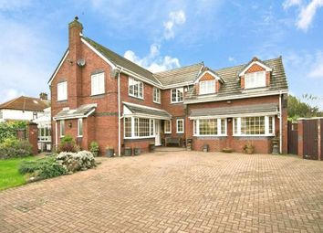 Thumbnail 5 bed detached house for sale in Charlwood Avenue, Huyton, Liverpool