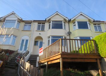 Thumbnail 3 bed terraced house for sale in Higher Manor Terrace, Paignton