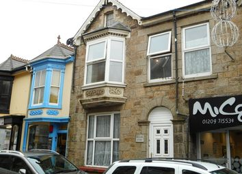 Thumbnail 1 bed flat to rent in Cross Street, Camborne