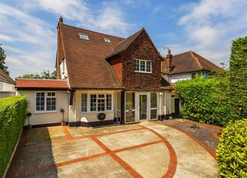 Thumbnail 5 bed detached house for sale in Belmont Rise, Cheam, Sutton