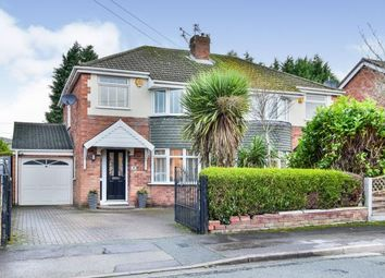Thumbnail 3 bed semi-detached house for sale in Berisford Close, Timperley, Altrincham, Greater Manchester