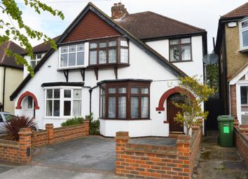 Thumbnail 3 bed semi-detached house for sale in Hill Grove, Romford