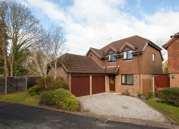 Thumbnail 4 bed detached house for sale in Russetts Drive, Fleet