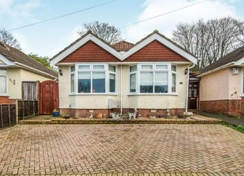 Thumbnail 3 bed detached bungalow for sale in Hurstbourne Place, Kingsclere Avenue, Southampton