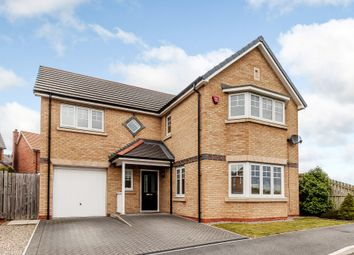 Thumbnail 4 bed detached house for sale in Crossways Court, Durham