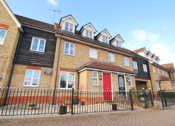 Thumbnail 3 bed town house for sale in Berwick Avenue, Chelmsford
