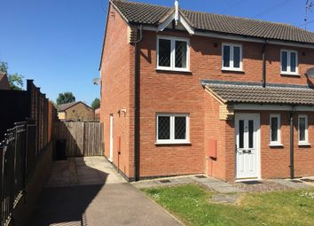 Thumbnail 3 bed semi-detached house to rent in Cromer Close, Grantham