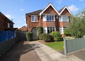 Haddon Crescent, Beeston, Nottingham NG9. 3 bed semi-detached house