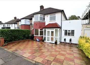 Thumbnail 4 bed semi-detached house for sale in Basildon Avenue, Ilford