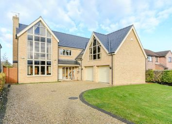 Thumbnail 5 bed detached house for sale in Bourne Road, Colsterworth, Lincolnshire