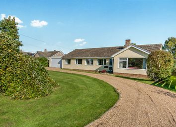 Thumbnail 4 bed detached bungalow for sale in Hall Road, Winfarthing, Diss