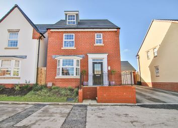 Thumbnail 4 bed detached house for sale in Cadora Way, Coleford