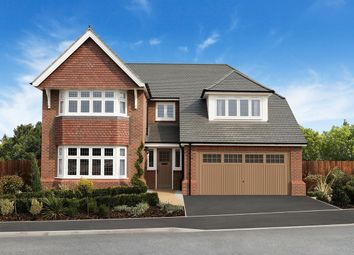 "Thumbnail 5 bed detached house for sale in ""Marlborough"" at Chaul End Village, Caddington, Luton"