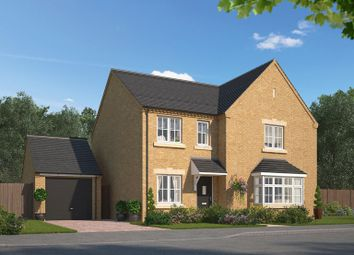 Thumbnail 4 bed detached house for sale in Conyers Green Lane, Yarm
