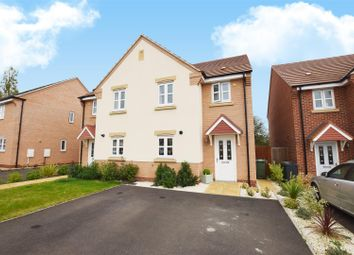 Thumbnail 3 bed semi-detached house for sale in Highreeds End, Sileby, Loughborough