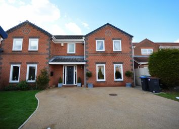 Thumbnail 5 bed detached house for sale in Denwick Close, Chester Le Street