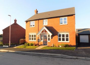 Thumbnail 4 bed detached house for sale in The Laughton At Heathlands, Swepstone Road, Heather