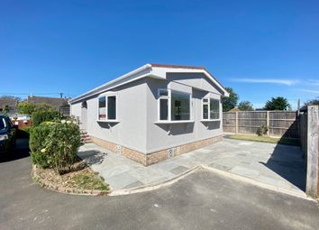 Thumbnail 2 bed mobile/park home for sale in Southampton Road, Ringwood