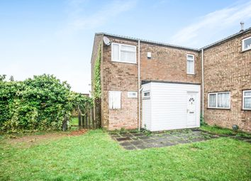 Thumbnail 3 bedroom end terrace house for sale in Winchester Gardens, Luton