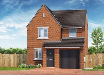 "Thumbnail 3 bed property for sale in ""The Fern"" at Gynsill Lane, Anstey, Leicester"