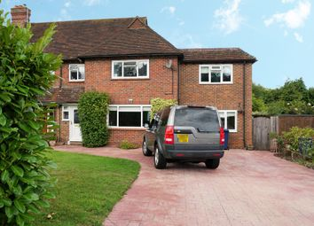 Thumbnail 4 bed semi-detached house for sale in Hullmead, Shamley Green, Guildford