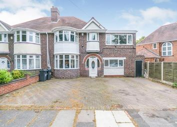 Thumbnail 5 bed semi-detached house for sale in Kilmorie Road, Acocks Green, Birmingham
