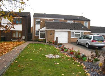 Thumbnail 3 bed semi-detached house for sale in Garth Crescent, Binley, Coventry
