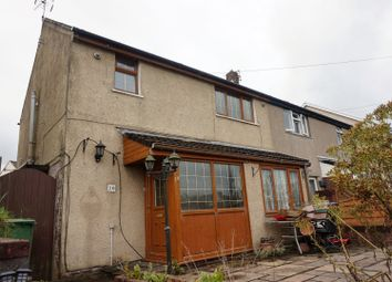 Thumbnail 2 bed semi-detached house for sale in Forest Road, Pontypridd