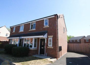 Thumbnail 3 bed semi-detached house to rent in Coleport Close, Warrington