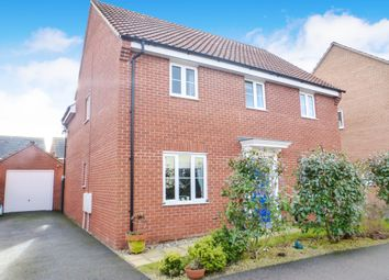 Thumbnail 4 bed detached house for sale in Blyths Wood Avenue, Costessey, Norwich