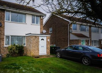 Thumbnail 3 bed semi-detached house for sale in Shawley Road, Sawtry, Huntingdon