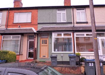 Thumbnail 2 bed terraced house to rent in Wroxton Road, Yardley, Birmingham