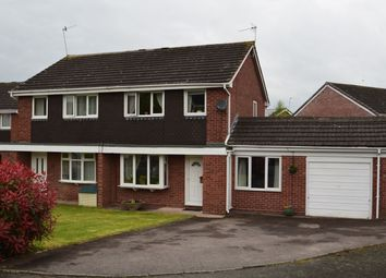 Thumbnail 4 bed semi-detached house for sale in Vernon Grove, Droitwich