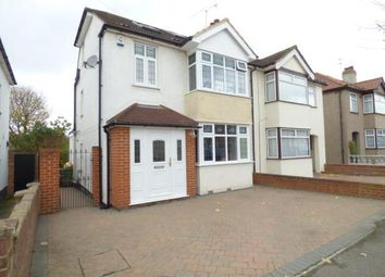 Thumbnail 4 bedroom semi-detached house for sale in Edison Avenue, Hornchurch