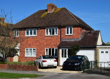 Thumbnail 4 bed semi-detached house for sale in Oaken Grove, Newbury