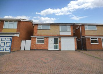 Thumbnail 4 bed detached house for sale in Hoarestone Avenue, Whitestone, Nuneaton
