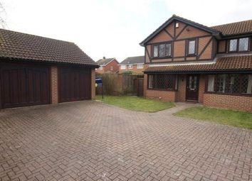 Thumbnail 4 bedroom detached house to rent in Merrifield Close, Lower Earley, Reading