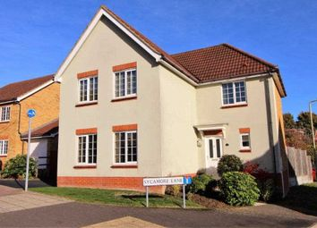 Thumbnail 4 bed detached house for sale in Sycamore Lane, Ashford, Kent