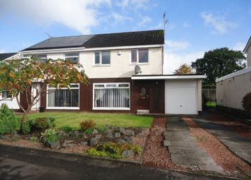 Thumbnail 3 bed semi-detached house for sale in The Cleaves, Tullibody, Alloa