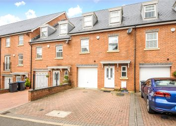 Thumbnail 4 bed terraced house for sale in Sandhills Court, Sandhills Lane, Virginia Water, Surrey