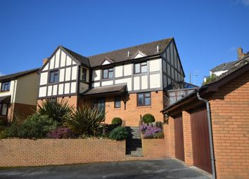 Thumbnail 4 bed detached house for sale in Stoneleigh Close, Newton Abbot