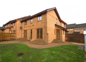 Thumbnail 3 bed terraced house for sale in Forgewood Path, Airdrie, Lanarkshire
