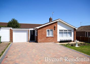 Thumbnail 3 bed detached bungalow for sale in Saxon Gardens, Caister-On-Sea, Great Yarmouth