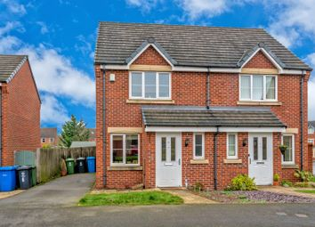 Thumbnail 2 bedroom semi-detached house to rent in Lupin Drive, Huntington, Cannock