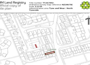 Thumbnail Land for sale in Welwyn Close, Wallsend