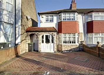 Thumbnail 3 bed end terrace house for sale in Cuckoo Hall Lane, London