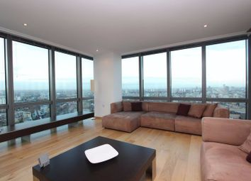 Thumbnail 2 bed flat to rent in Hertsmere Road, London