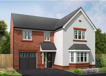 "Thumbnail 4 bed detached house for sale in ""Bordesley"" at Croxton Lane, Middlewich"