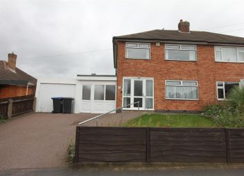 Thumbnail 3 bed semi-detached house for sale in Forresters Road, Burbage, Hinckley